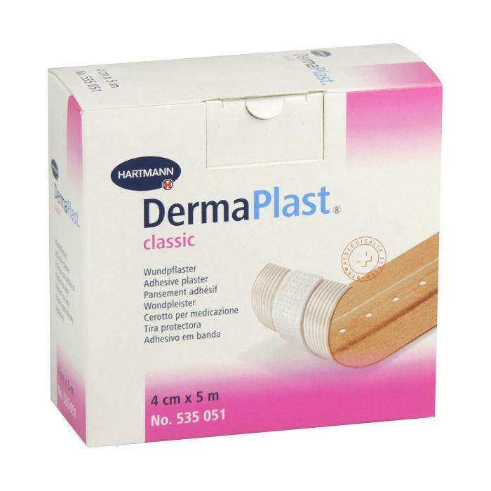 Dermaplast wondpleisters classic 4cm x 5m