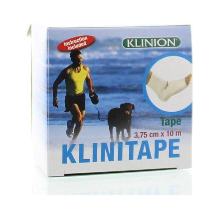 Klinion Sporttape 3,75cm x 10m wit
