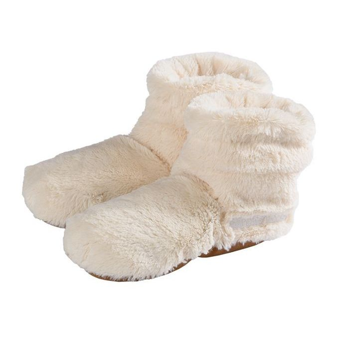 Volatile Slippies Plush Boots Beige maat 37-42