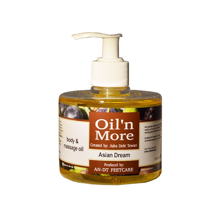 Oil 'n More Asian Dream body & massage olie 300ml