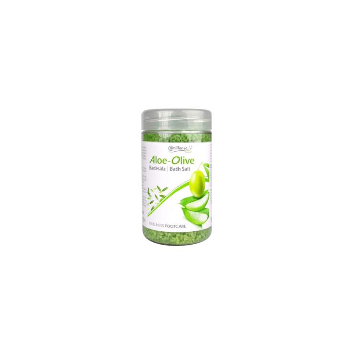 Camillen 60 voetbadzout Aloe-Olive 350g