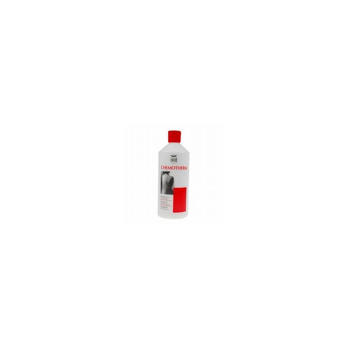 Chemotherm Massage olie 500ml rood