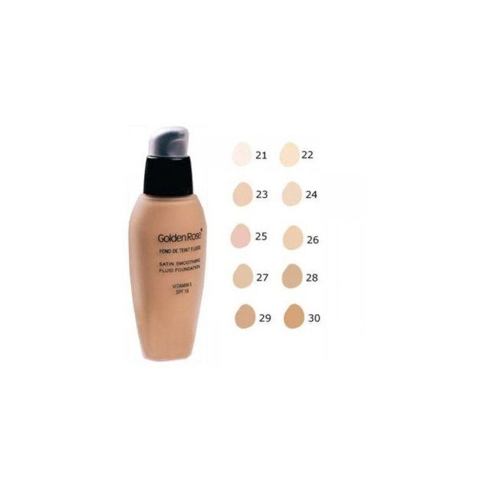 GR Satin Smoothing Fluid Foundation 26