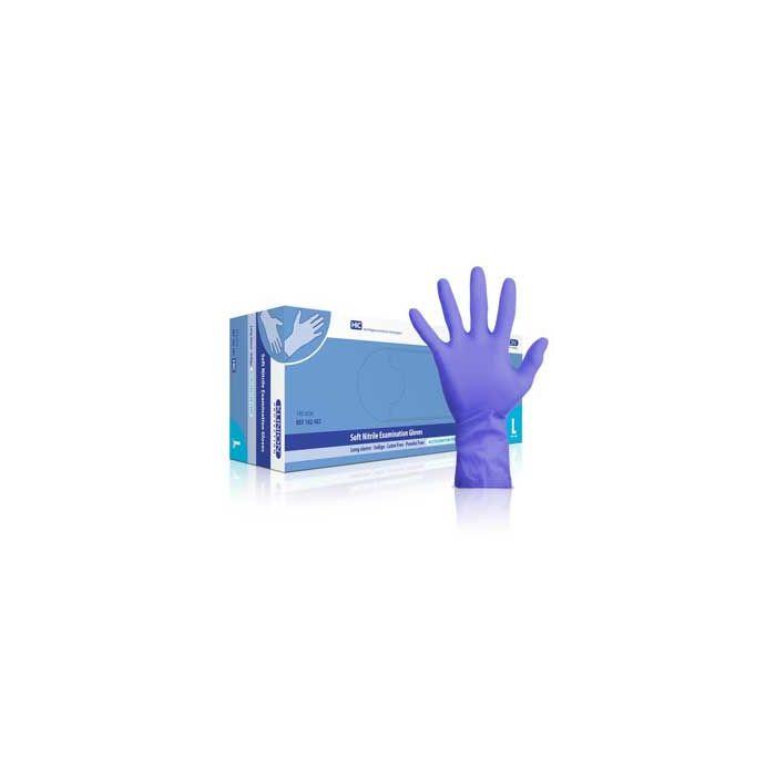 Klinion handschoenen soft nitrile Sensitive L, 150st