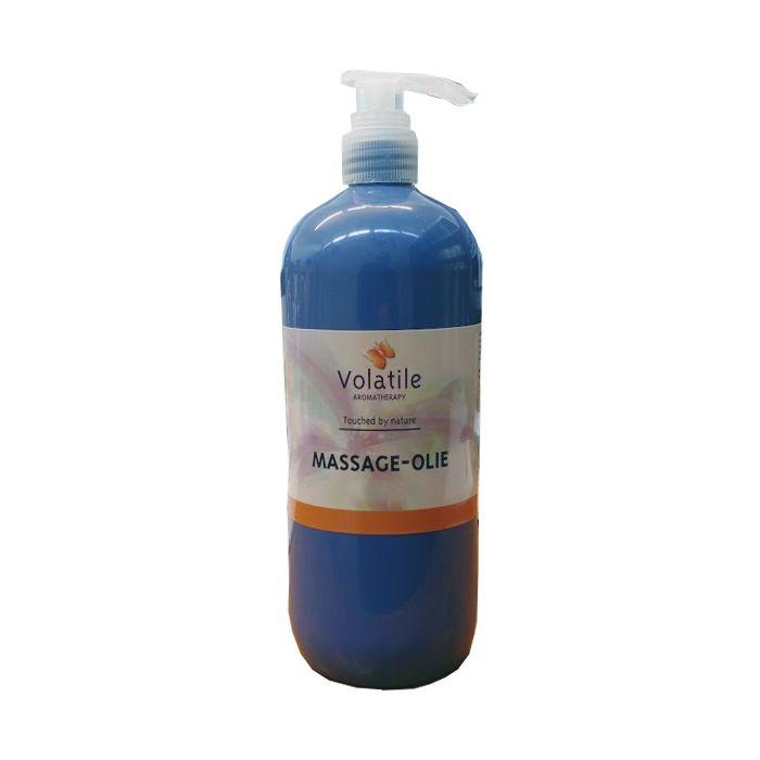 Volatile Massage olie neutraal 1 liter - tijdelijk met schenkdop
