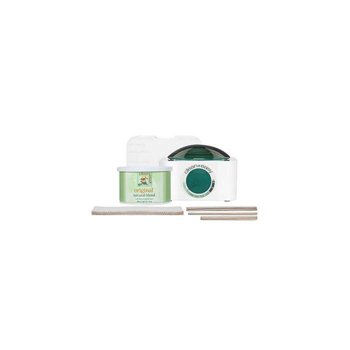 Clean & Easy pot wax mini kit incl. pot