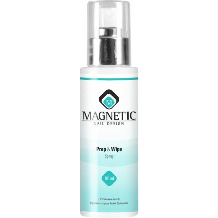 Magnetic prep & wipe spray 100ml