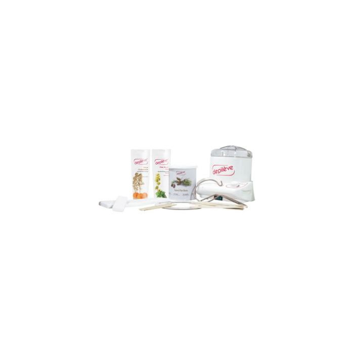Depileve Pakket striphars en spatel 1 (800g)