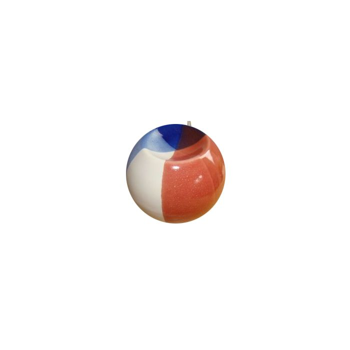 Volatile Thermo kogel - blauw wit rood