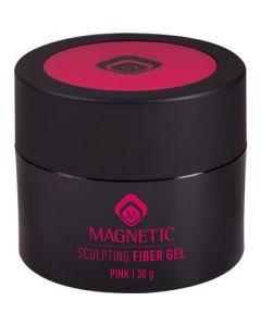 Magnetic Fiber Sculpting Gel Pink 30 g