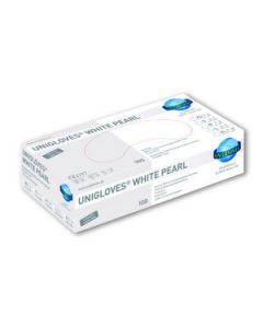 Unigloves white pearl nitril L 100st