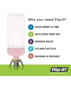 Flip-it Bottle emptying kit