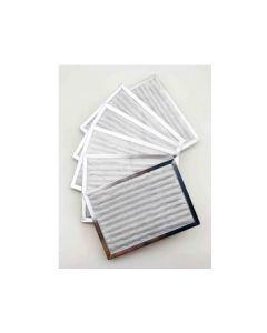 Valentino set 6 filters Inbouw 14,5x20,2 voor Valentino Flush Mount XLS 6 Inbouw
