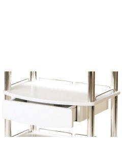 Werktafel Alicia - automatische lade wit