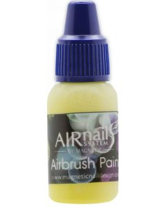 Magnetic airnails paint Lime Yellow 16 10ml