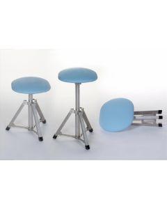 Ambulante werkstoel ook verkrijgbaar in andere kleuren