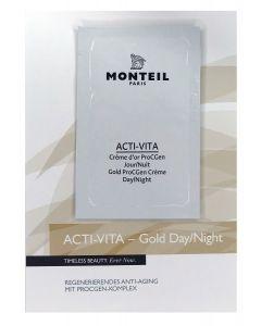 Monteil proefje Acti-Vita Gold ProCGen Creme day/night, 3 ml