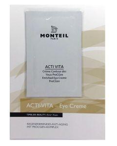 Monteil proefje Acti-Vita Enriched Eye Creme ProCGen, 3 ml