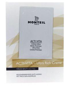 Monteil proefje Acti-Vita Ultra Rich Creme ProCGen, 3ml