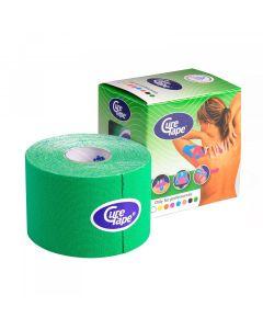 Cure tape Fysio tape 5cm x 5m groen