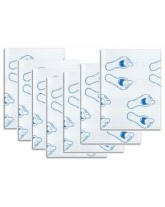 Crosstex dental towels lach.voet 100st