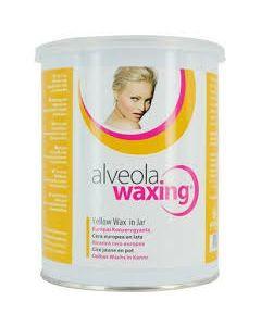 Alveola waxing honing yellow potwax