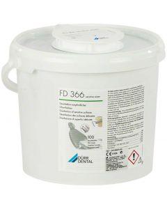 Dürr FD 366 Sensitive Wipes dispencer met 100 doekjes