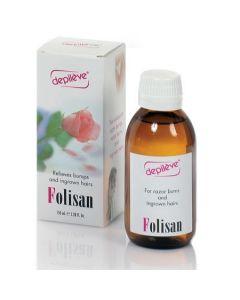 Depileve Folisan tegen ingeg haartjes 150ml