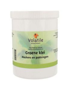 Volatile Groene Klei Poeder 500 gram.