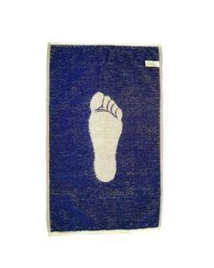 Handdoek voetprint