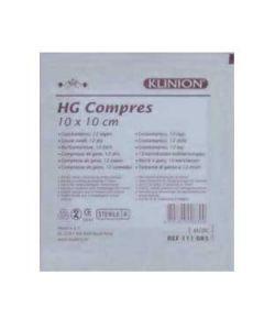 Klinion HG hydrofiel gaaskompres 5x5 cm 10st