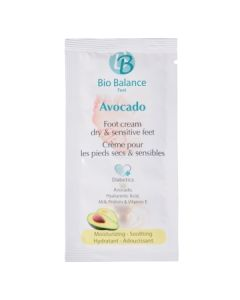 Bio Balance proefje Footcreme Avocado 5ml