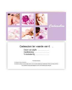 Cadeaubon 16 + enveloppe, 10st