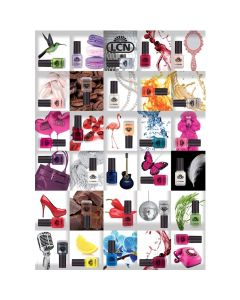 """LCN Poster """"Fashion up your nails"""" A1"""