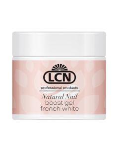 LCN Natural Nail Boost Gel, 5 ml French white