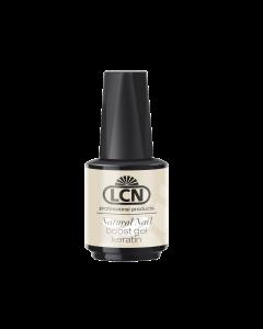 LCN Natural Nail Boost Gel mit Keratin, 10 ml clear