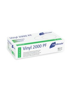 Meditrade Vinyl handschoenen maat L 100st