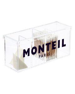 Monteil Acryl organiser met deksel