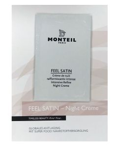 Monteil proefje FEEL SATIN Night Creme, 3ml