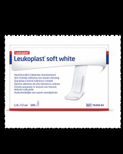 Leukoplast Soft White 1,9cmx7,2cm 100st