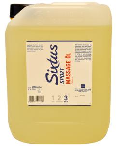 Sixtus Massage olie Citrus 5 liter