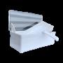 Desinfectiebak kunststof met tray en deksel 1,2L